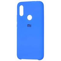 Чехол Silicone Case Xiaomi Redmi 7 (синий)