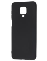 Чехол Soft Touch Xiaomi Redmi Note 9s/9 Pro (черный)
