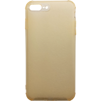 Чехол усиленный матовый iPhone 7/8 Plus (желтый)