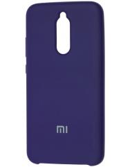 Чехол Silky Xiaomi Redmi 8 (темно-синий)