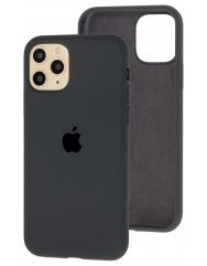 Чохол Silicone Case Iphone 11 Pro (темно-сірий)