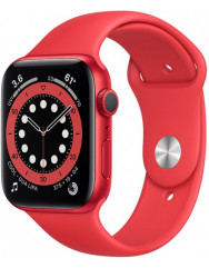 Apple Watch Series 6 44mm (PRODUCT) Red Aluminium Case with Red Sport Band (M00M3UL/A)