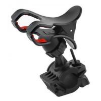 Держатель для телефона велосипедный S031 (черный)