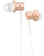 Вакуумні навушники-гарнітура Xiaomi Mi In-Ear Pro (Gold) + чохол для навушників