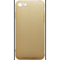 Чехол усиленный матовый iPhone 7/8 (желтый)
