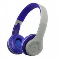 Bluetooth-гарнитура HAVIT HV-2575BT (серый+синий)