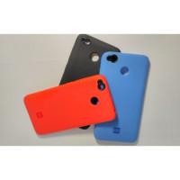 Чехол Silicone Case Xiaomi Redmi 4x (голубой)