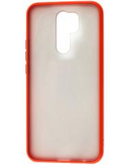 Чохол LikGus Maxshield матовий Xiaomi Redmi 9 (червоний)