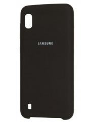 Чохол Silky Samsung Galaxy A10 (чорний)