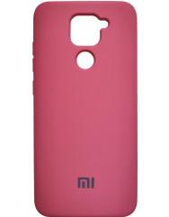 Чехол Silicone Case Xiaomi Redmi Note 9 (коралловый)