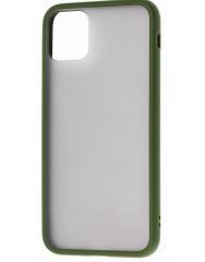 Чехол LikGus Maxshield матовый iPhone 11 (хаки)