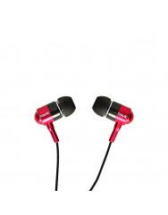 Вакуумні навушники-гарнітура Havit HV-L670 (Red)