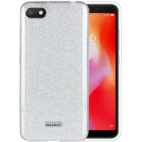 Чехол Shine Xiaomi Redmi 6a (серебряный)