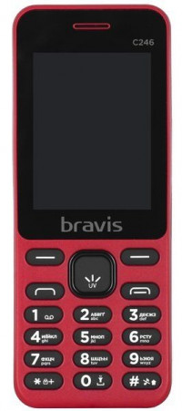 Bravis C246 Fruit Dual Sim (Red)