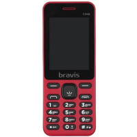Bravis C246 Fruit Dual Sim (Red)