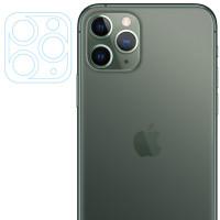 Защитное стекло на камеру Apple Iphone 11 Pro / 11 Pro Max (прозрачное) 0.18mm
