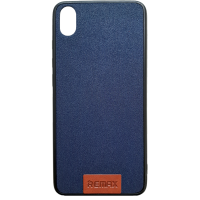Чехол Remax Tissue Xiaomi Redmi 7a (темно-синий)