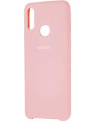 Чохол Silky Samsung Galaxy A10s (рожевий)