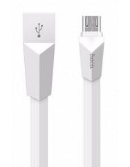 Кабель Hoco X4 Micro USB (білий) 1.2м