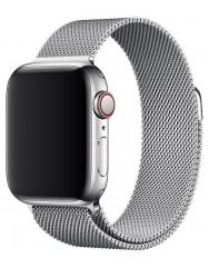 Ремінець Milanese для Apple Watch 38/40mm (срібний)