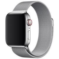 Ремешок Milanese для Apple Watch 38/40mm (серебряный)