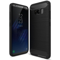 Чехол Carbon Samsung Galaxy S8+ (черный)