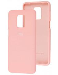 Чехол Silicone Case Xiaomi Redmi Note 9s/9 Pro (розовый)