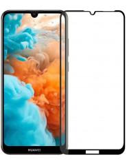 Скло Huawei Y6 2019 (5D Black) 0.33mm