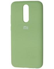 Чехол Silicone Case Xiaomi Redmi 8 (зеленый)