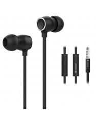 Вакуумні навушники-гарнітура Celebrat N1 (Black)