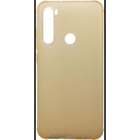 Чехол усиленный матовый Xiaomi Redmi Note 8 (желтый)
