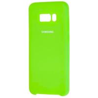Чехол Silky Samsung Galaxy S8+ (ярко-салатовый)