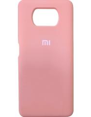 Чохол Silicone Case Xiaomi Poco X3 / Poco X3 Pro (рожевий)