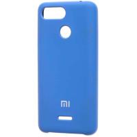 Чехол Silky Xiaomi Redmi 6 (синий)