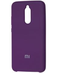 Чехол Silky Xiaomi Redmi 8 (фиолетовый)