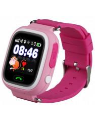 Дитячий GPS-годинник Q90 / Q100 (Pink)