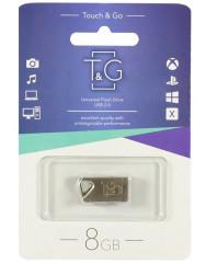 Флешка USB T&G 109 Metal 8Gb (Silver) TG109-8G