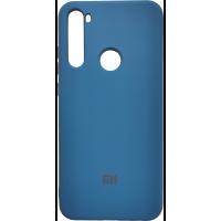 Чехол Silicone Case Xiaomi Redmi Note 8T (синий)