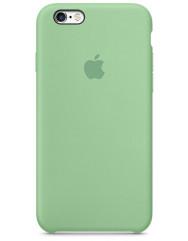 Чохол Silicone Case iPhone 6/6s (м'ятний)