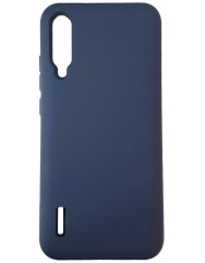 Чохол Silicone Case Xiaomi Mi A3 (темно-синій)
