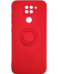 Чохол Ring Color Xiaomi Redmi Note 9 (червоний)