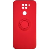 Чехол Ring Color Xiaomi Redmi Note 9 (красный)