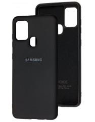 Чохол Silicone Case Samsung Galaxy A21s (чорний)