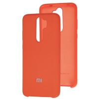 Чехол Silky Xiaomi Redmi Note 8 Pro (оранжевый)