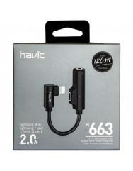 Кабель Havit HV-H663 AUX 3.5mm аудио кабель
