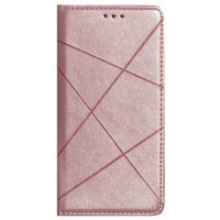 Книга Business Leather Xiaomi Redmi 9 (розовый)
