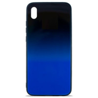 Чехол Glass Case Gradient Xiaomi Redmi 7a (Blue Abyss)