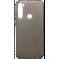 Чехол усиленный матовый Xiaomi Redmi Note 8 (черный)