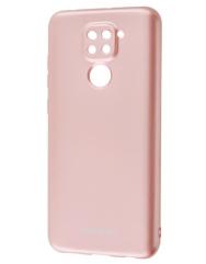 Чохол Molan Xiaomi Redmi Note 9 (бронзовий)