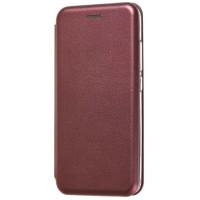 Книга Premium Xiaomi Redmi 6a (бордовый)